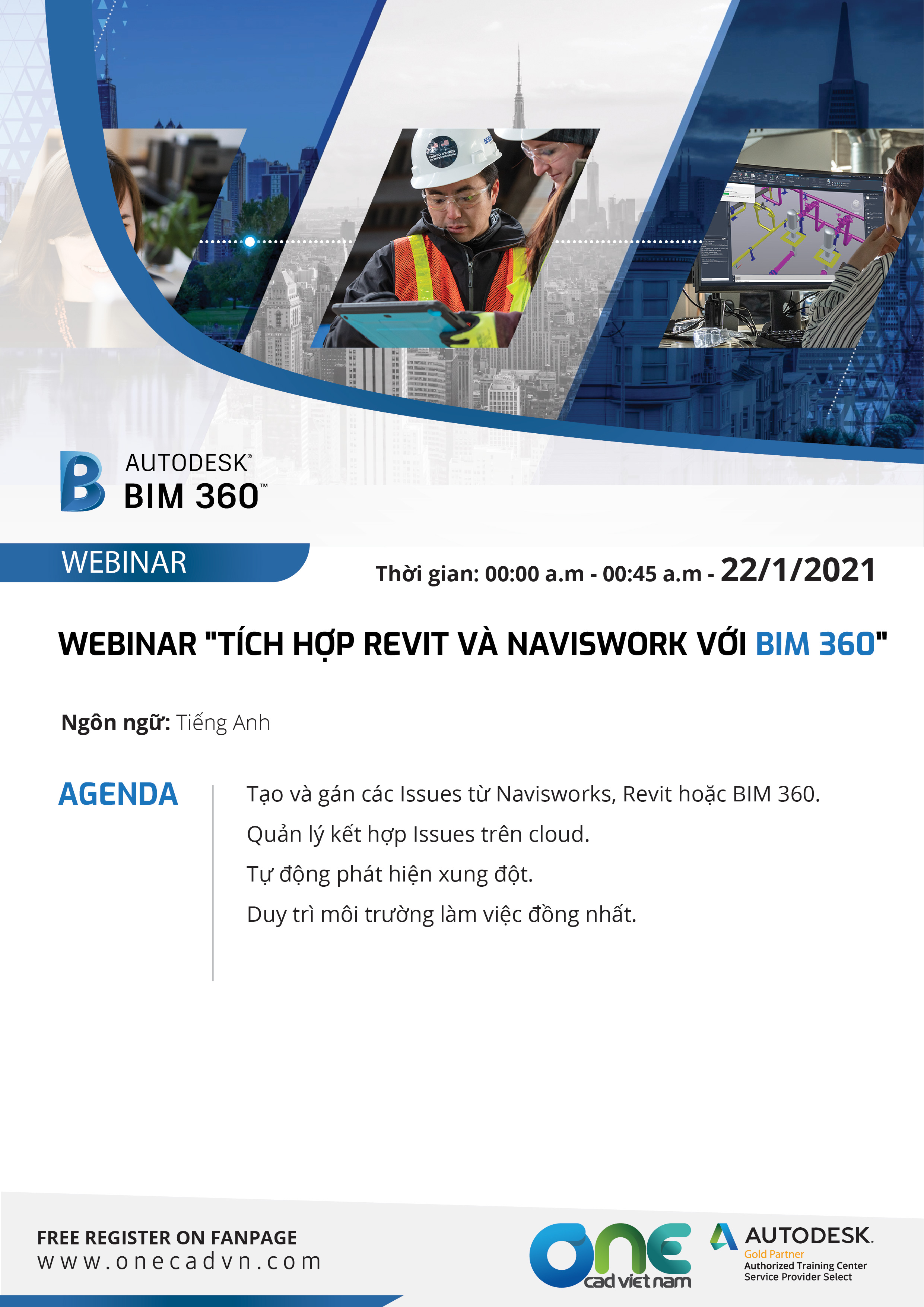 Webinar Integrate Revit and Navisworks with BIM 360
