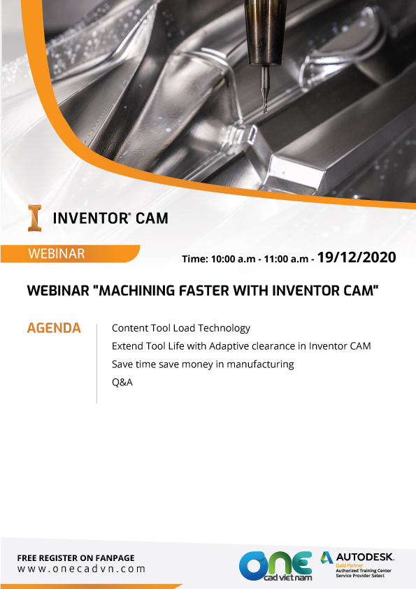 Machining faster with Inventor CAM