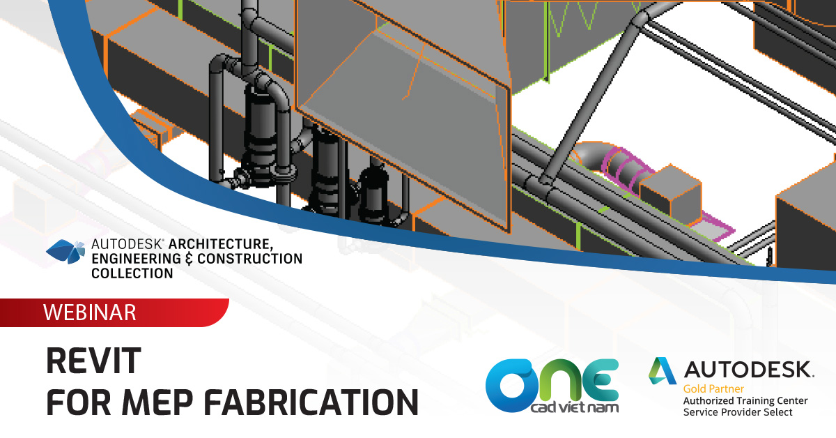 Webinar - Revit MEPF Fabrication