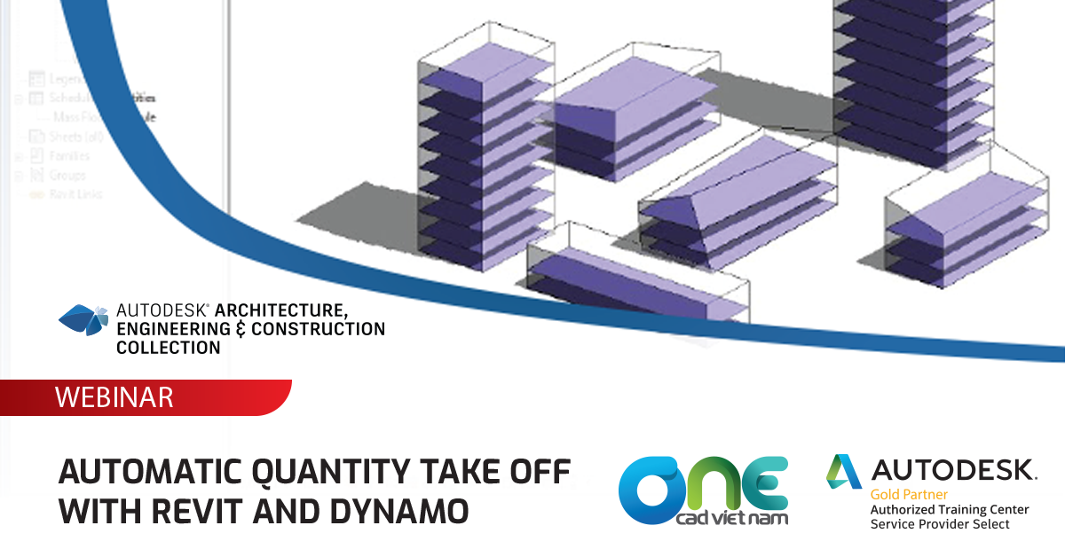 Webinar - Automatic quantity take off with Revit and Dynamo