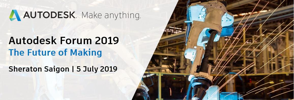 Đăng ký tham dự sự kiện Autodesk Forum 2019