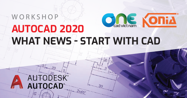 "Workshop ""AutoCAD 2020 - What News & Start with CAD"""