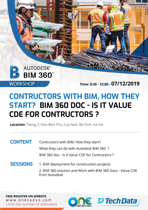 workshop bim360 for contructors