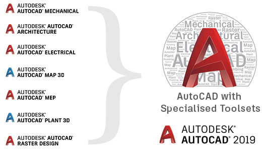 Merge to one version of AutoCAD 2019